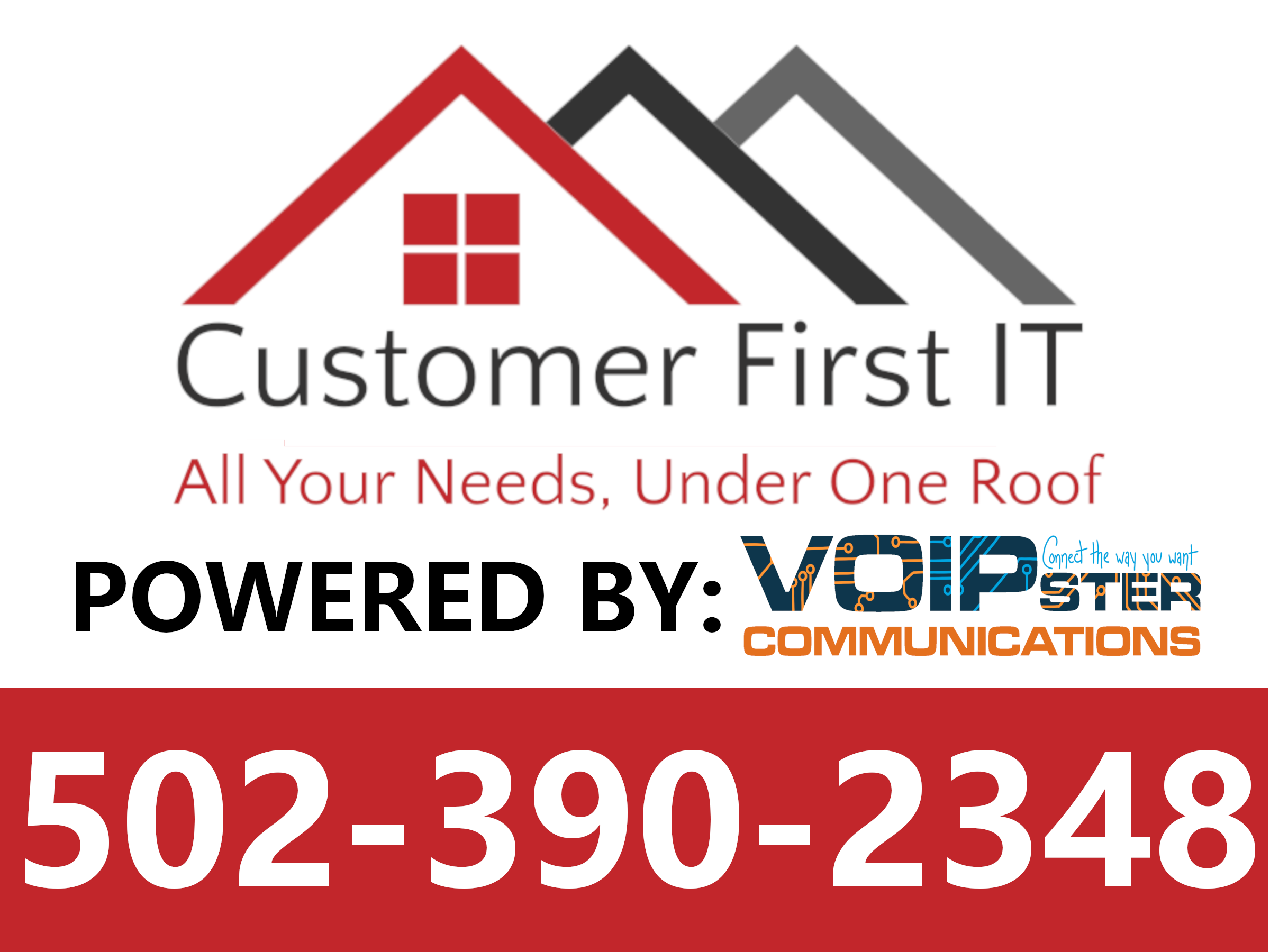Customer First IT Powered by VoIPster